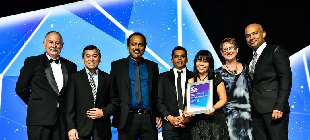 Telstra award winners!